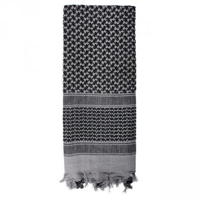 Šátek SHEMAGH odlehèený ŠEDÝ 105 x 105 cm