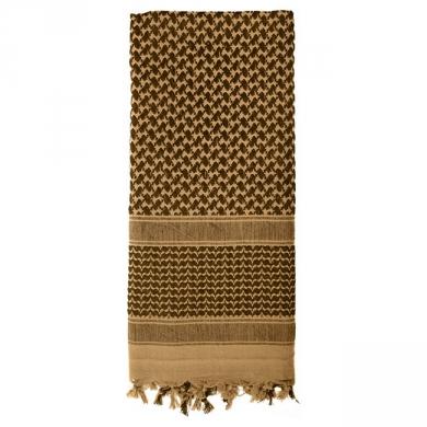 Šátek SHEMAGH odlehèený COYOTE 105 x 105 cm