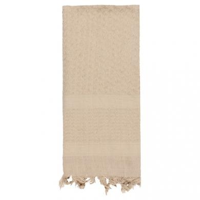 Šátek SHEMAGH SOLID 107 x 107 cm TAN - DESERT