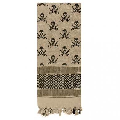 Šátek SHEMAGH LEBKY 107 x 107 cm DESERT