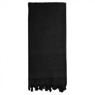 Šátek SHEMAGH SOLID 107 x 107 cm ÈERNÝ