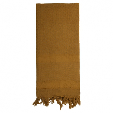 Šátek SHEMAGH SOLID 107 x 107 cm COYOTE