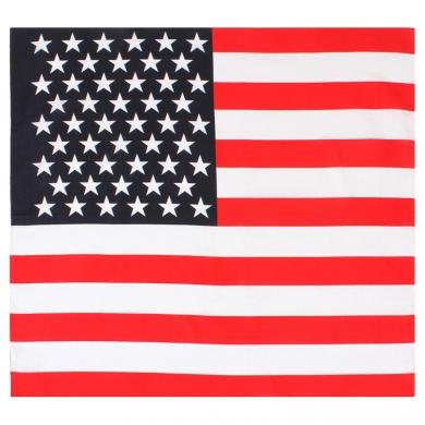 Šátek vlajka USA 68 x 68 cm