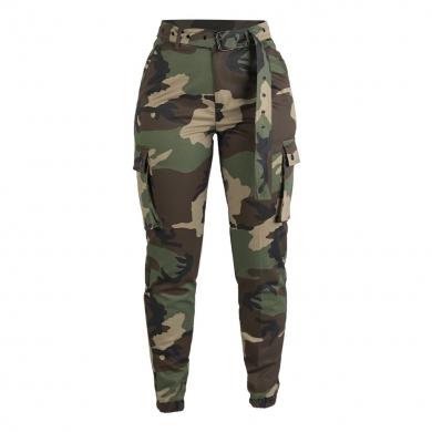 Kalhoty dámské ARMY WOODLAND