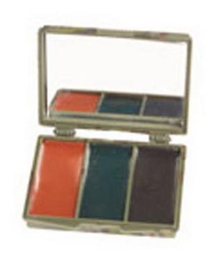 Maskovací líèidla - 3 barvy se zrcátkem