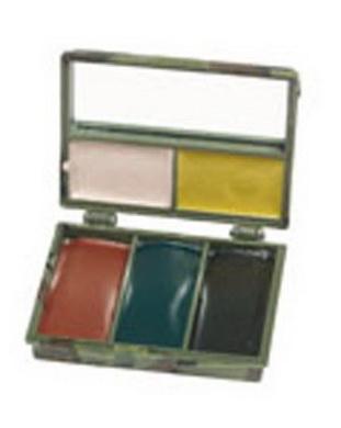 Maskovací líèidla - 5 barev se zrcátkem