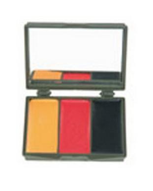 Maskovací líèidla - 3 barvy BDR se zrcátkem