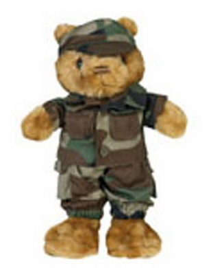 Obleèení pro TEDDY malý WOODLAND