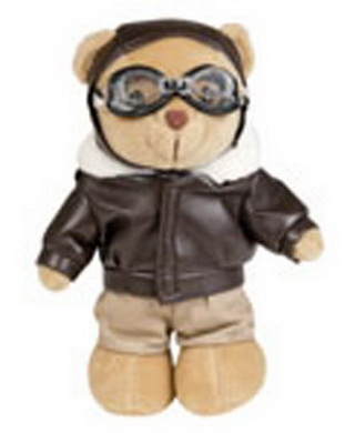 Medvídek TEDDY PILOT
