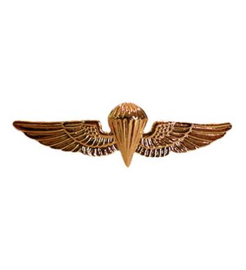Odznak U.S.N./U.S.M.C. PARAWING ZLATÝ