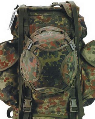 Popruh na pøipevnìní helmy BW