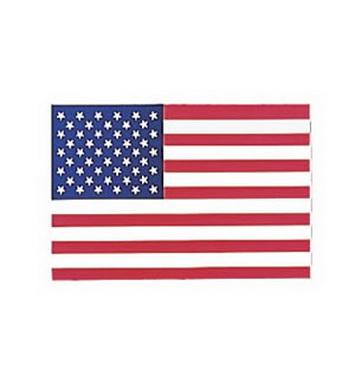 Samolepka U.S. vlajka FACE