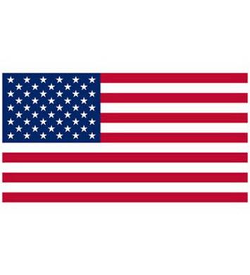 Vlajka USA 50 hvìzd VINTAGE bavlna vyšívaná 90x150cm