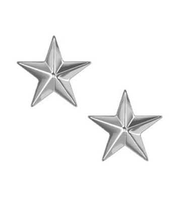 Odznak hodnosti BRIGADIER GENERAL STARS STØÍBRNÝ