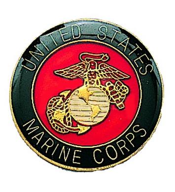 Odznak MARINE CORP