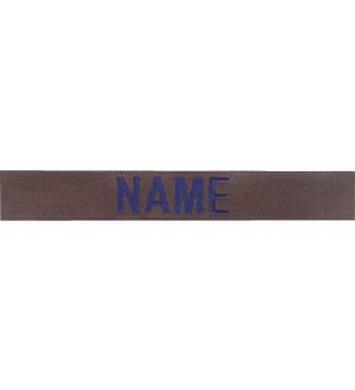 Nášivka jmenovka sada 3ks NAME modrá ni� OLIV