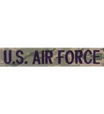 Nášivka U.S AIRFORCE VELCRO - DIGITAL TIGER