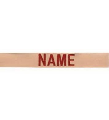 Nášivka jmenovka sada 3ks NAME  DESERT