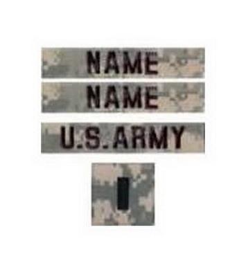 Nášivky U.S ARMY sada 4ks VELCRO ACU