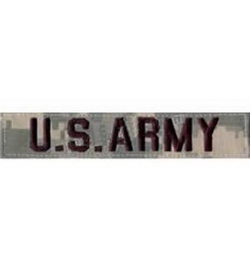 Nášivka U.S ARMY VELCRO ACU