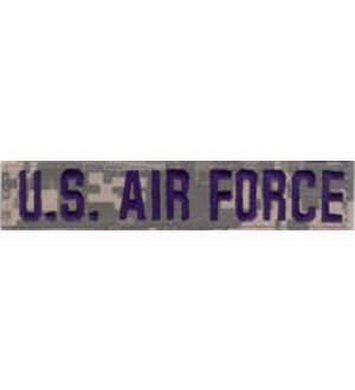 Nášivka U.S AIRFORCE modrá nit VELCRO - ACU