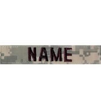 Nášivka jmenovka NAME ACU