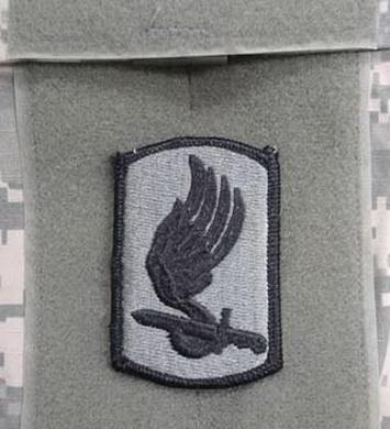 Nášivka 173rd AIRBORNE BDE VELCRO - FOLIAGE