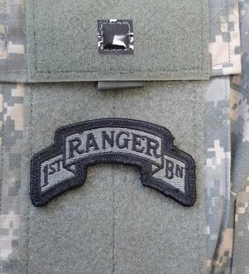 Nášivka oblouèek 1/75th RANGER RGT VELCRO FOLIAGE