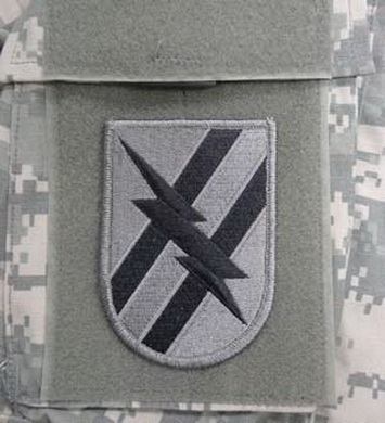 Nášivka 48th INFANTRY VELCRO - FOLIAGE