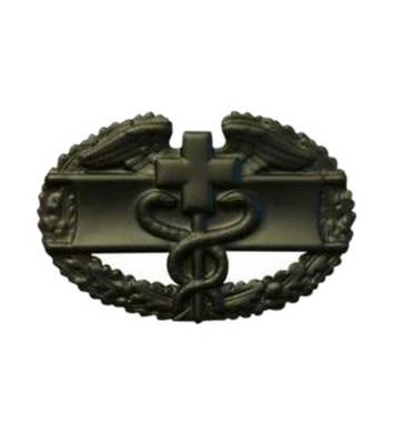 Odznak US COMBAT MEDICAL 1st AWARD ÈERNÁ