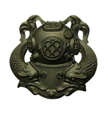 Odznak US DIVER 1st Class ÈERNÁ