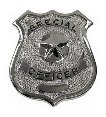 Odznak SPECIAL OFFICER STØÍBRNÝ