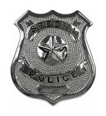 Odznak SPECIAL POLICE STØÍBRNÝ