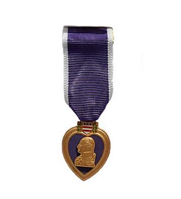 Medaile PURPUROVÉ SRDCE