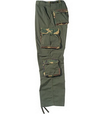 Kalhoty VINTAGE ULTRA FORCE OLIV