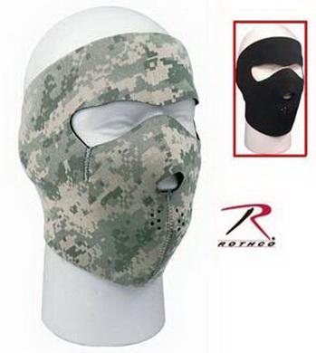 Maska neoprenová na oblièej ARMY DIGITAL CAMO