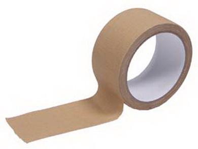 Páska lepící vodìodolná PÍSKOVÁ