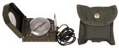 Kompas TRAVEL s mapomìrem OLIV