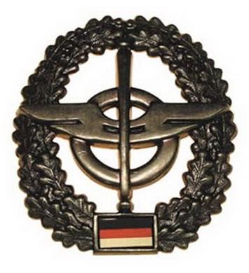 Odznak BW na baret NACHSCHUB kovový