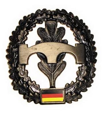 Odznak BW na baret PIONIERE kovový