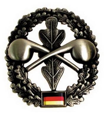 Odznak BW na baret ABC-ABWEHR kovový