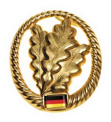 Odznak BW na baret JÄGER kovový
