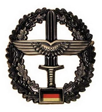 Odznak BW na baret HEERESFLIEGER kovový