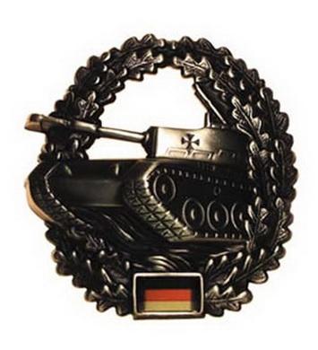 Odznak BW na baret PANZER kovový