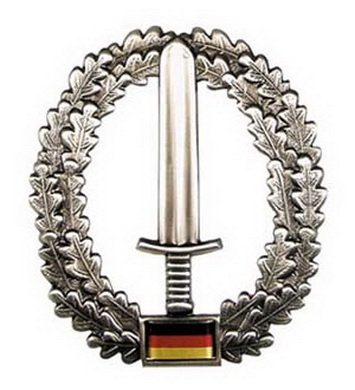 Odznak BW na baret KSK kovový