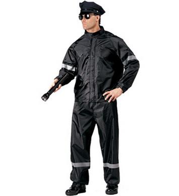 Pláštìnka POLICE komplet ÈERNÝ