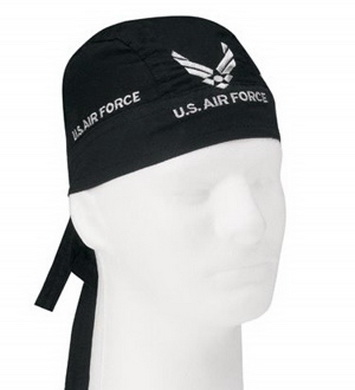 Šátek HEADWRAP U.S. AIR FORCE ÈERNÝ
