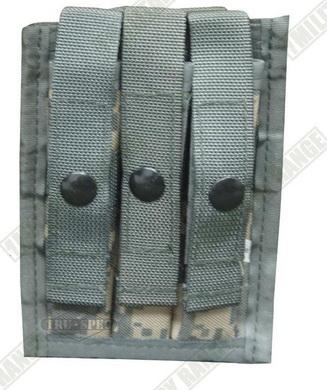 Sumka MOLLE na 3 zásobníky do pistole ACU Tru-Spec
