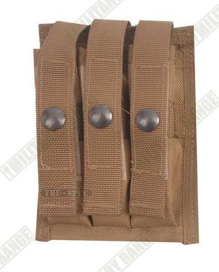 Sumka MOLLE na 3 zásobníky do pistole Coyote Tru-Spec