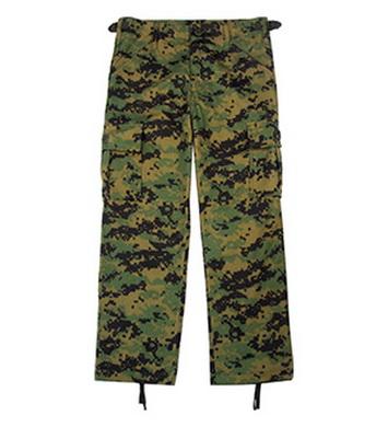 Kalhoty dìtské ULTRA FORCE DIGITAL WOODLAND